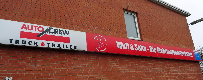 Wulf & Sohn an der Kieler Werftstraße.
