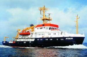 """Die """"Atair"""" gehört zur Flotte des BSH."""