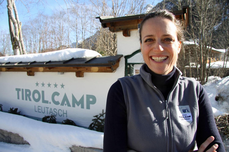 Tirol.Camp-Geschäfsführerin Julia Grissemann.
