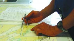Die Seekarte auf Papier ist ein Auslaufmodell.