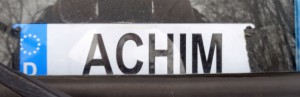 Achim hat wohl aufgegeben?