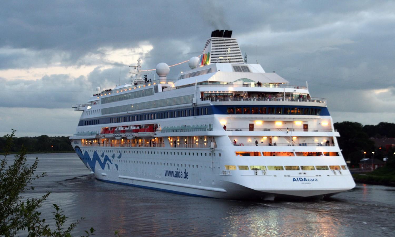 Das Traumschiff AIDAcara wird in diesem Jahr nicht den Nord-Ostsee-Kanal befahren.