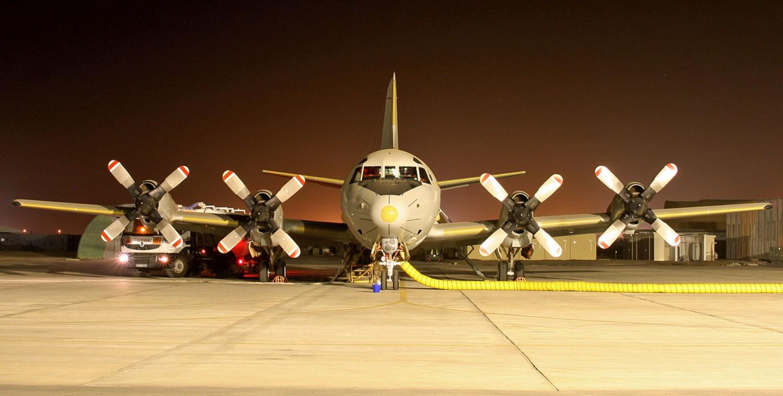 """Eine P-3C """"Orion"""" aus Nordholz operiert zurzeit von Djibouti aus."""