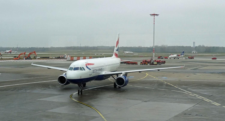 Mit einem A 320 nach London.