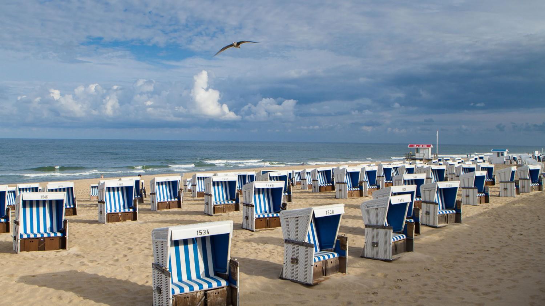 ....oder einfach am Strand liegen.