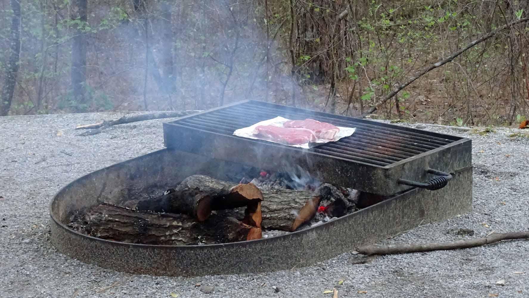 Grill und Steaks sab