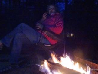 Ruhe und Gemütlichkeit am Lagerfeuer. Fotos: Henze, Sopha