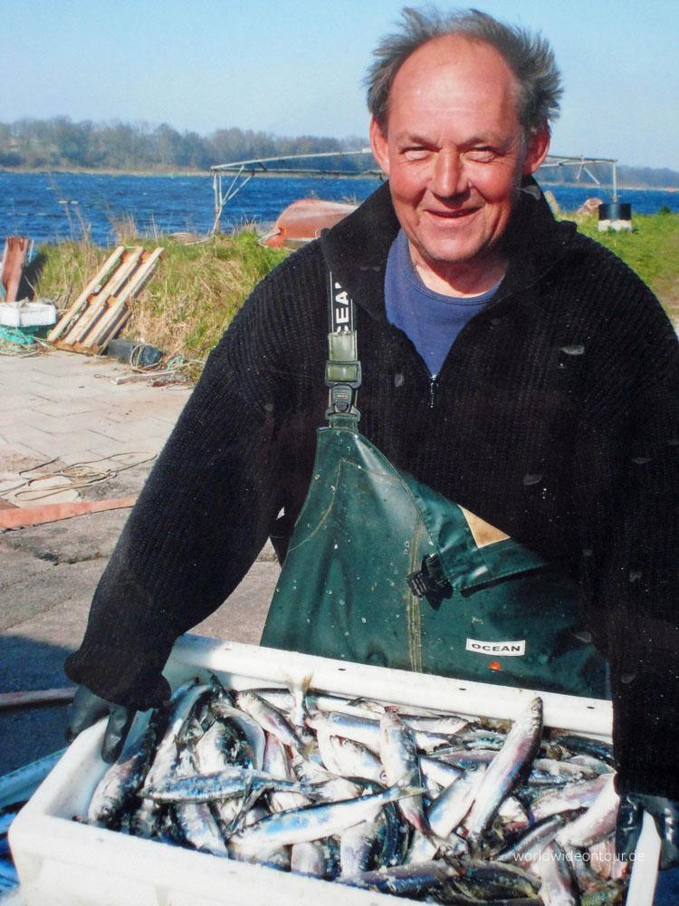 Kanalfischer Hans Brauer Archiv