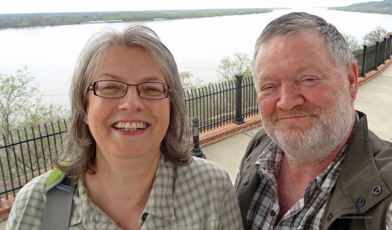 Sabine Sopha und Wolfgang Henze wollen mit dem eigenen Wohnmobil nach Nordamerika.
