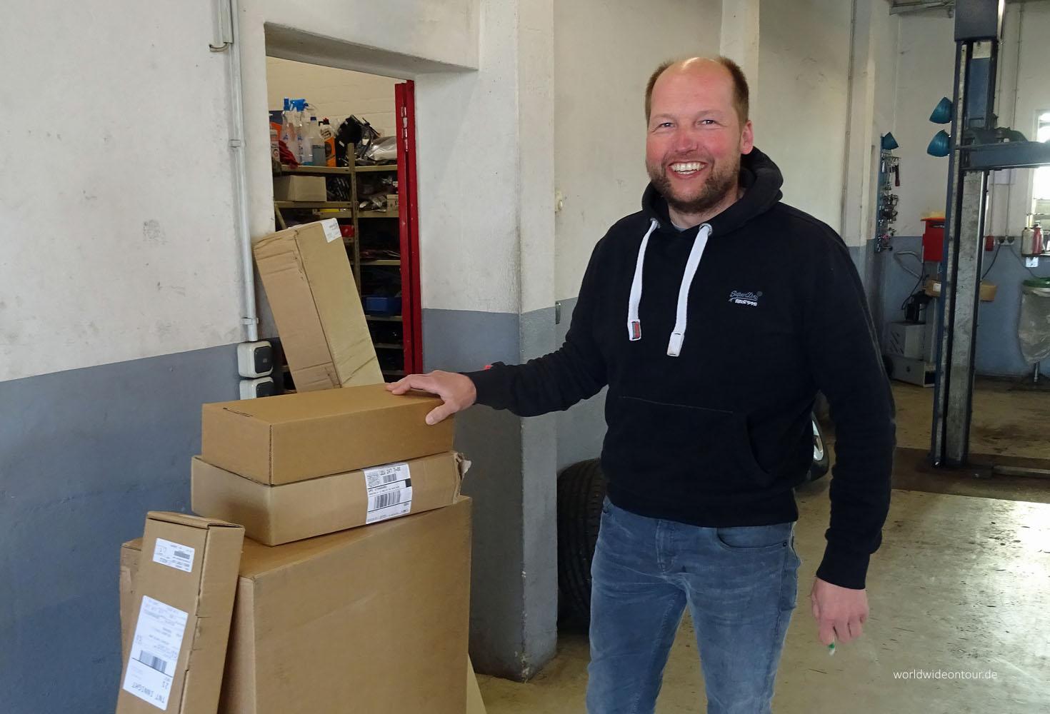 Sven Heithecker ist der Chef bei MaxAutomobile in Elsdorf-Westermühlen.
