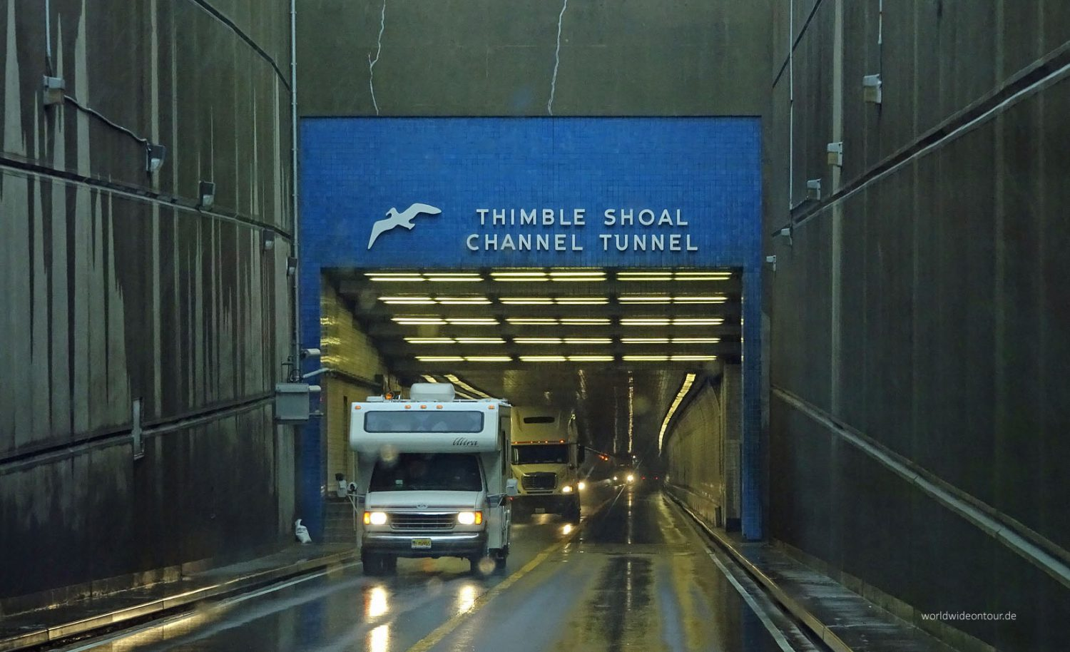Der Timble-Shoal-Channel-Tunnel.