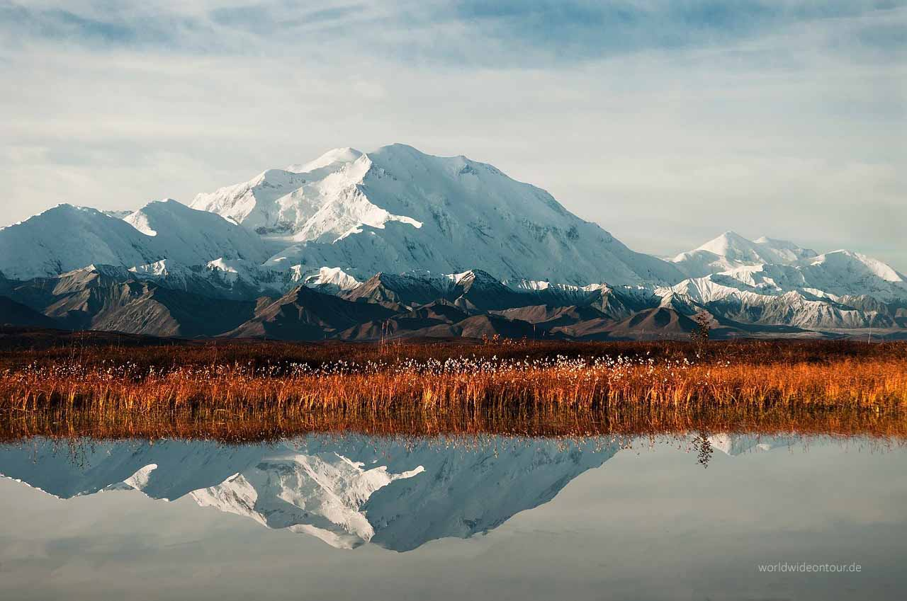 Mount McKinley: Höchster Berg der USA.