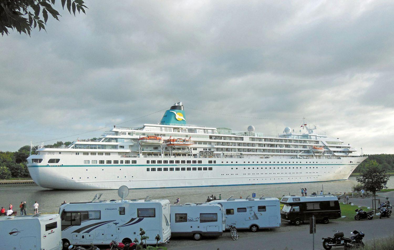"""Die """"Amadea"""" ist das neue ZDF-Traumschiff und das Flaggschiff der Phoenix-Flotte."""