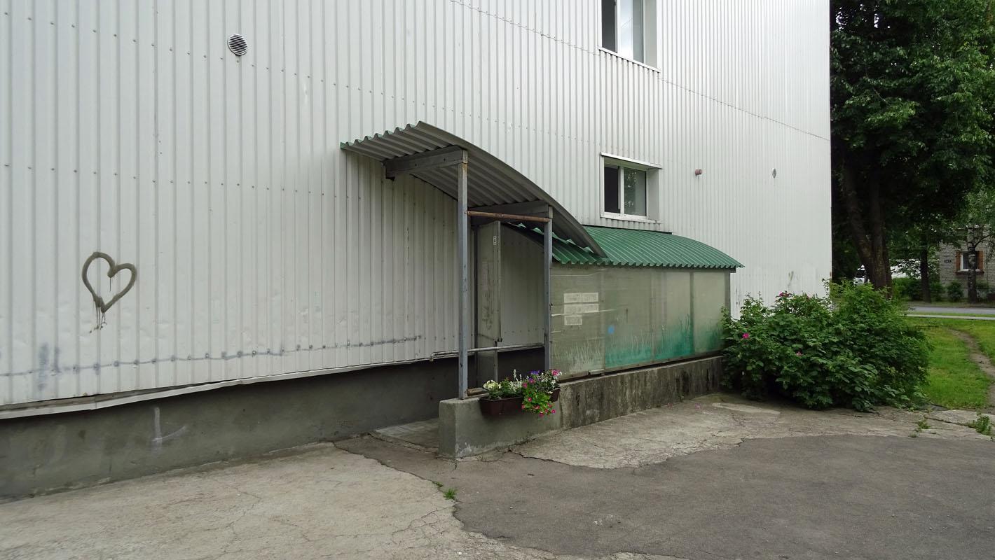 Der Haupteingang zur Kinder-Sozialstation.