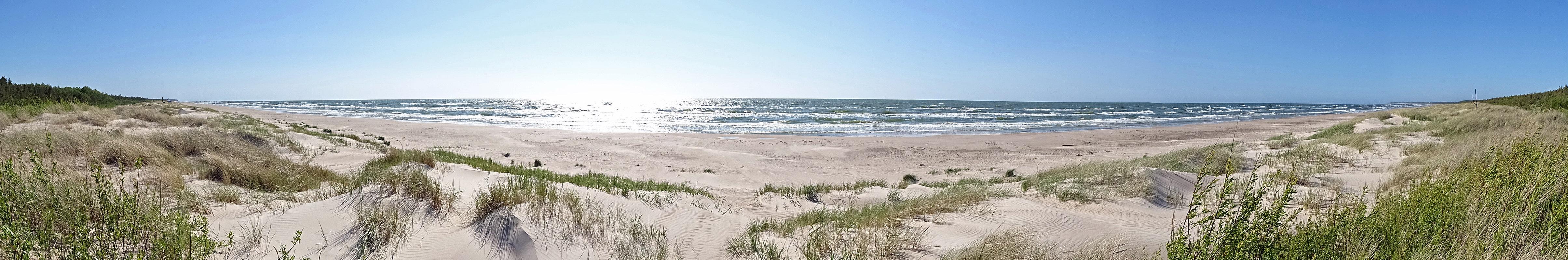 Ostseestrand bei Liepaja.