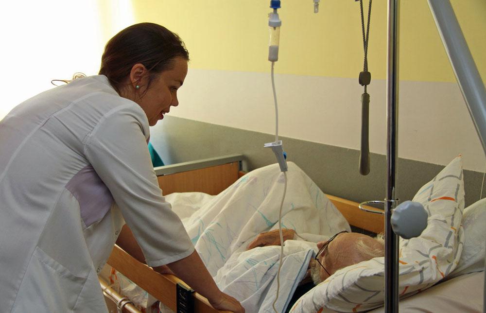 Hospiz in Tallinn: Leben in den letzten Stunden.