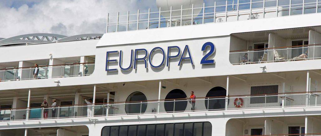 "Balkon-Suiten der ""Europa 2"". Fotos: Henze, Hapag-Lloyd"