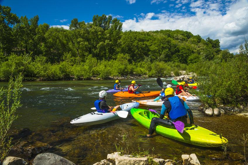 Unter Kanu-Fahrern sind die Flüsse im wilden Süden Frankreichs wohlbekannt.