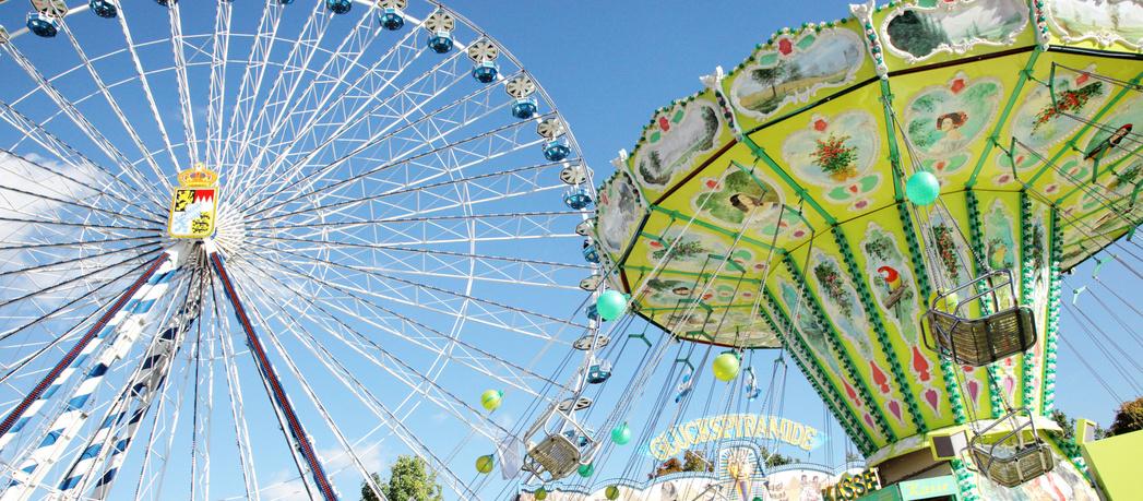 Oktober-Spaß auf dem größten deutschen Volksfest im September.