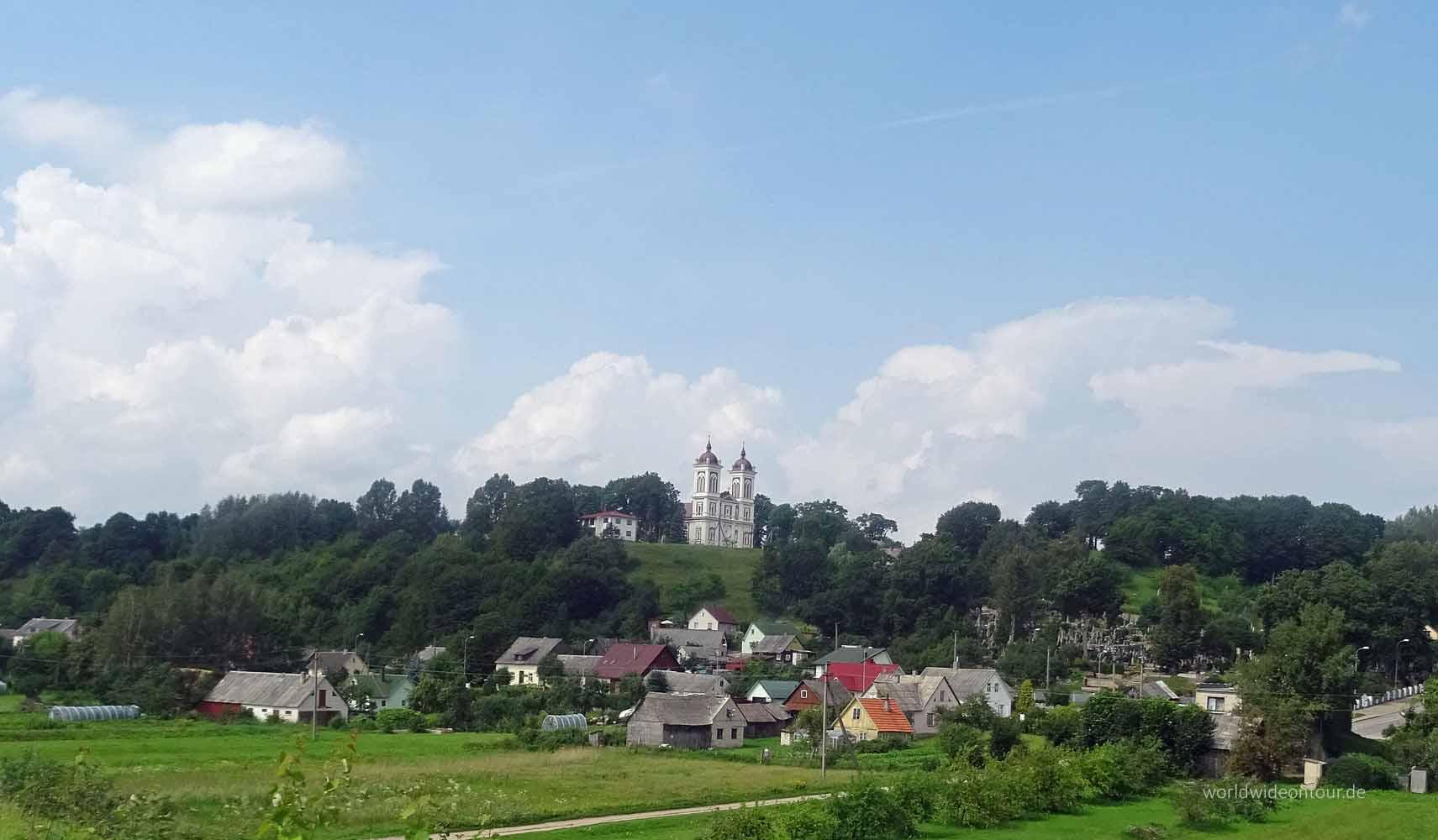 Kirche von Seredzius.