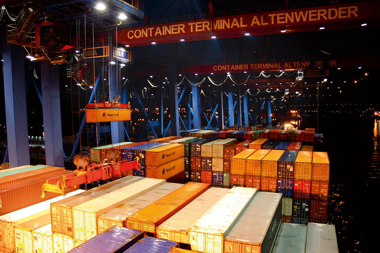 Container weltweit sind das Geschäft.