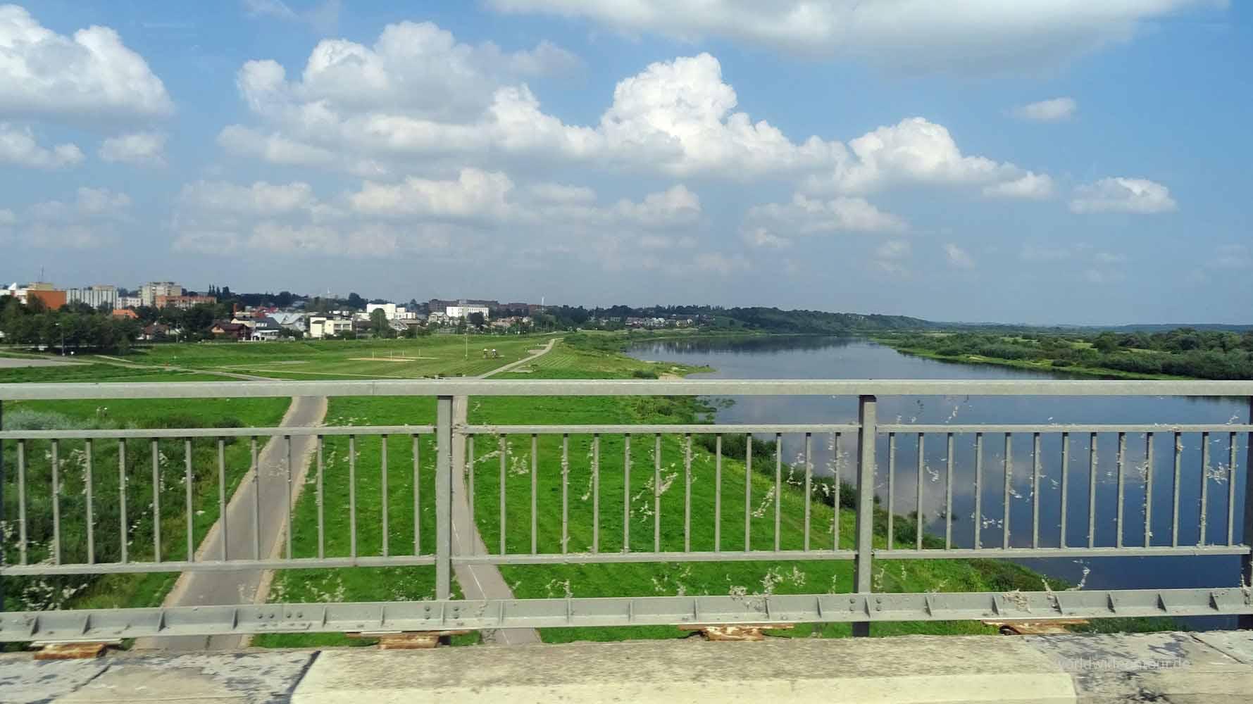 Skyline der Regionalstadt Jurbarkas