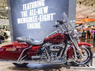 Harley-Davidson Road King auf der Intermot 2016. Fotos: Intermot