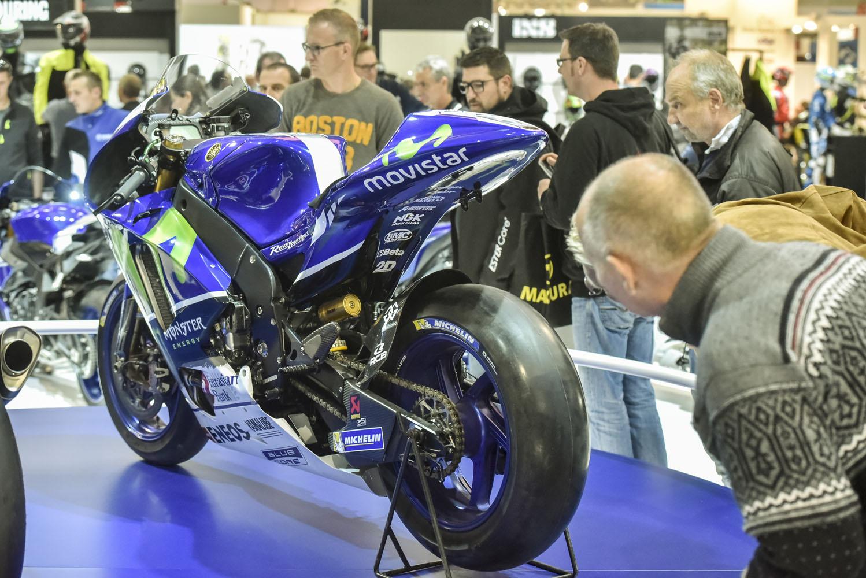 Yamaha in Halle 6: Technik die fasziniert.
