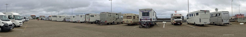 Der Wohnmobil-Stellplatz