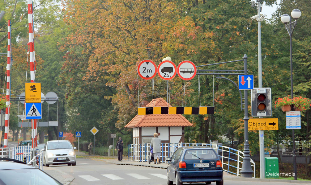 Drehbrücke Gyzicko whe