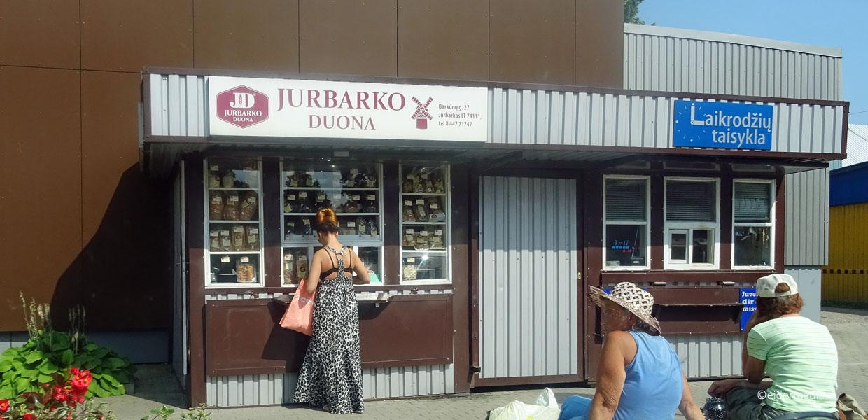 Kiosk in Jurbarkas whe