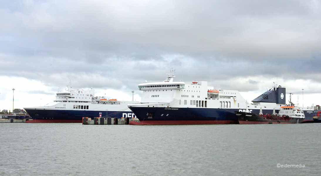 Victoria Seaways Optima Seaways Klaipeda whe