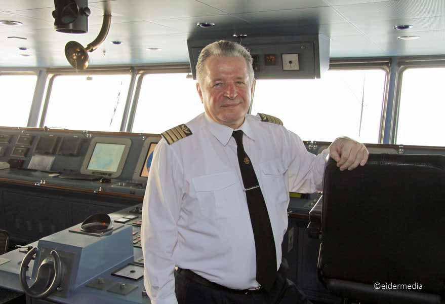 captain Henrikas Zalandauskas whe