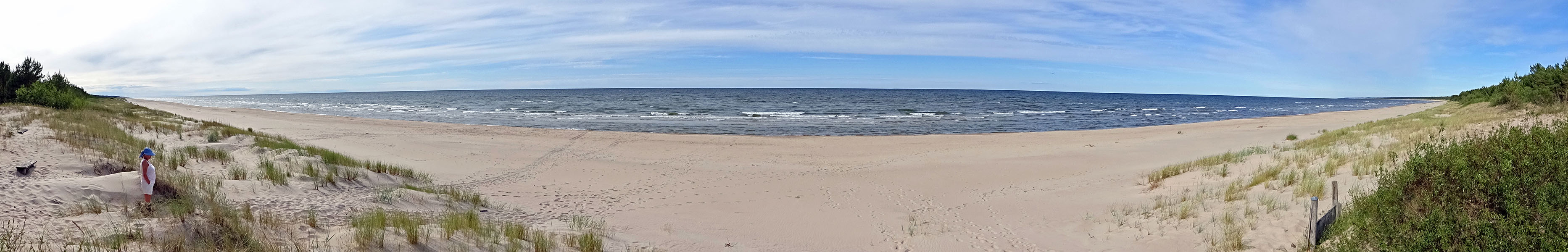 Sabine am Strand whe