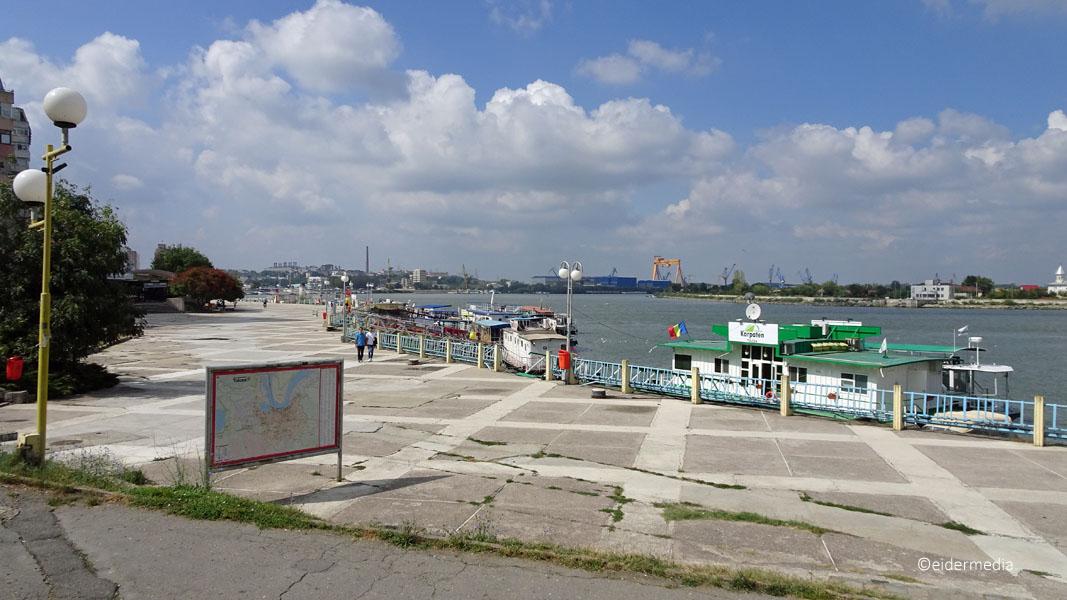 Tulcea Hafen whe