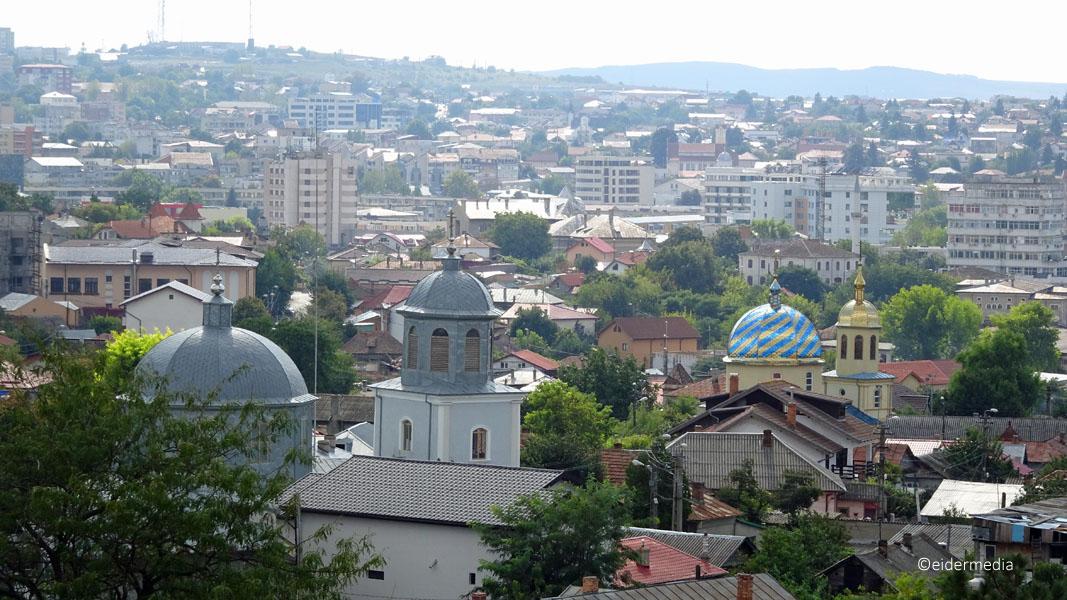 Tulcea mit Kirchen sab