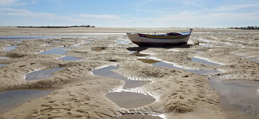 Strand mit Boot sab
